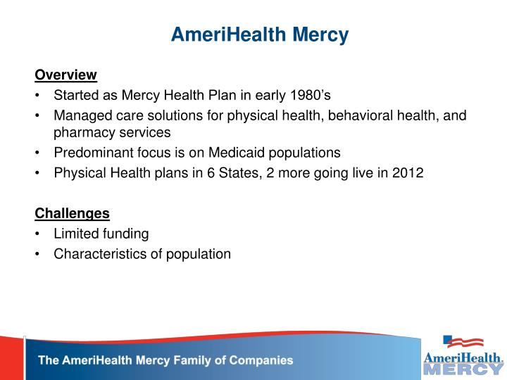 Amerihealth mercy