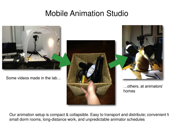 Mobile Animation Studio