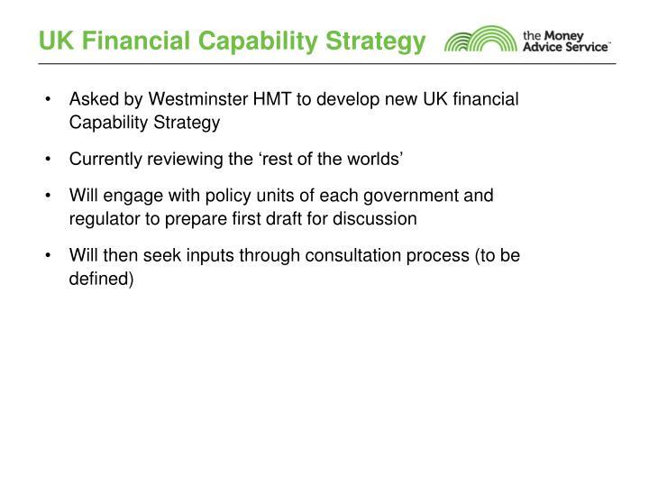 UK Financial Capability Strategy
