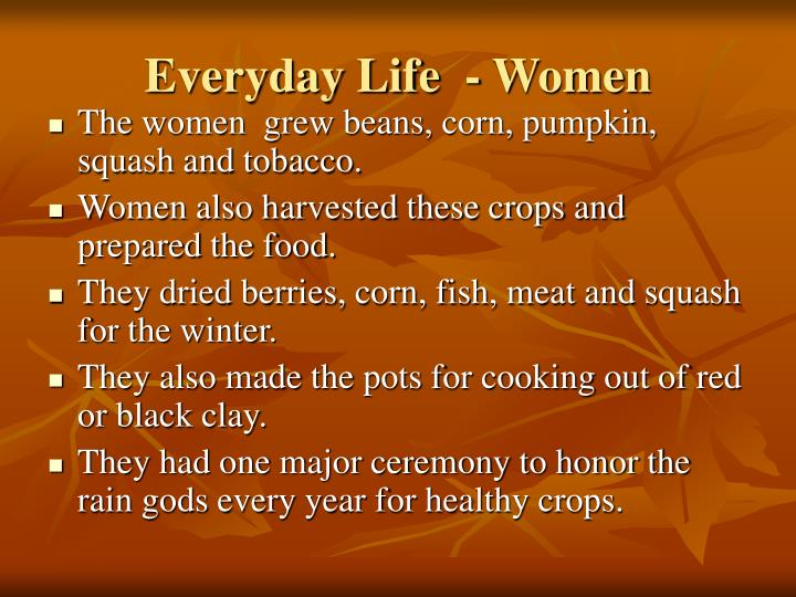 Everyday Life  - Women