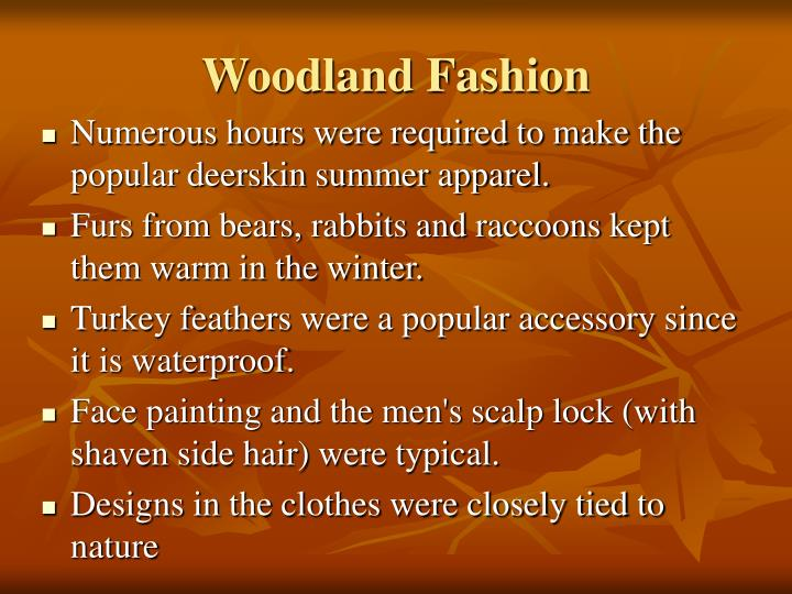 Woodland Fashion