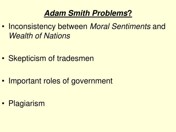 Adam Smith Problems