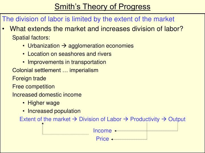 Smith's Theory of Progress