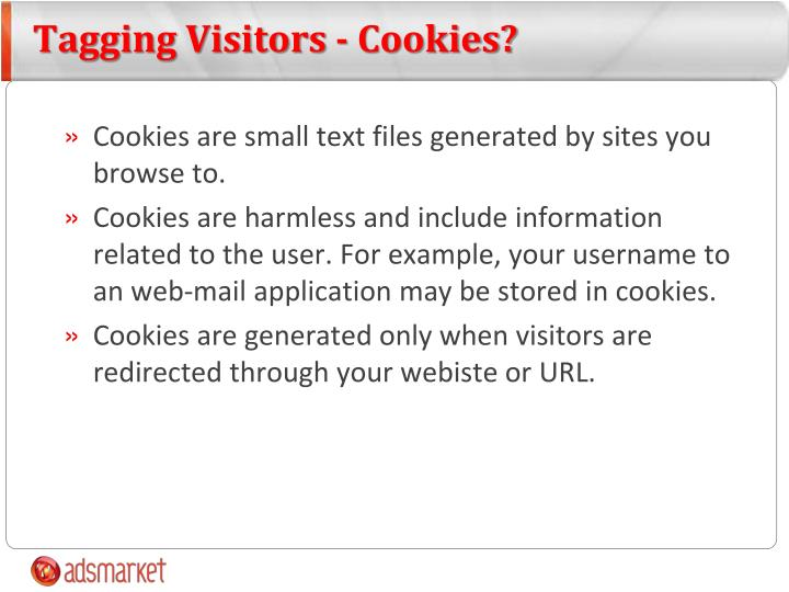 Tagging Visitors - Cookies?