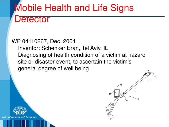 Mobile Health and Life Signs Detector