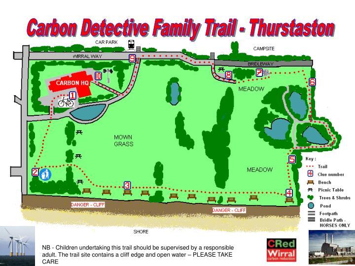 Carbon Detective Family Trail - Thurstaston