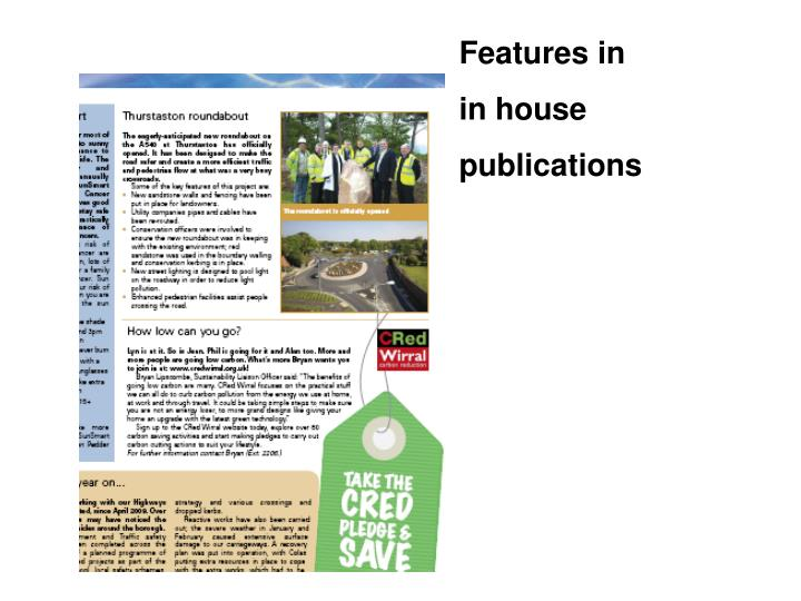 Features in