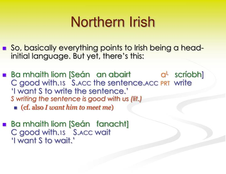Northern Irish