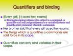 quantifiers and binding1