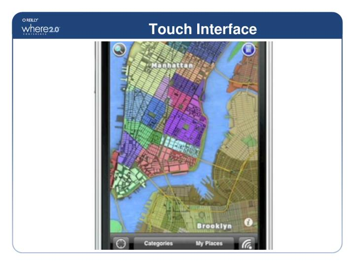 Touch Interface