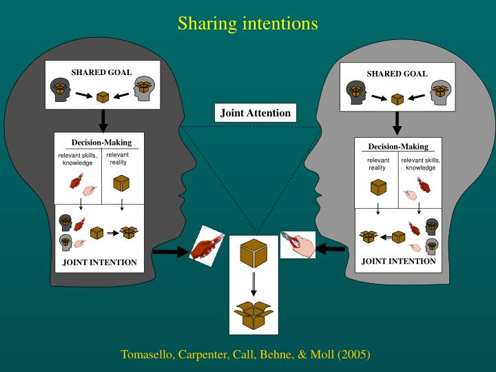 Sharing intentions