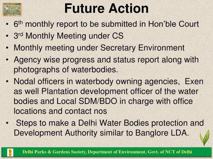 Delhi Parks & Gardens Society, Department of Environment, Govt. of NCT of Delhi
