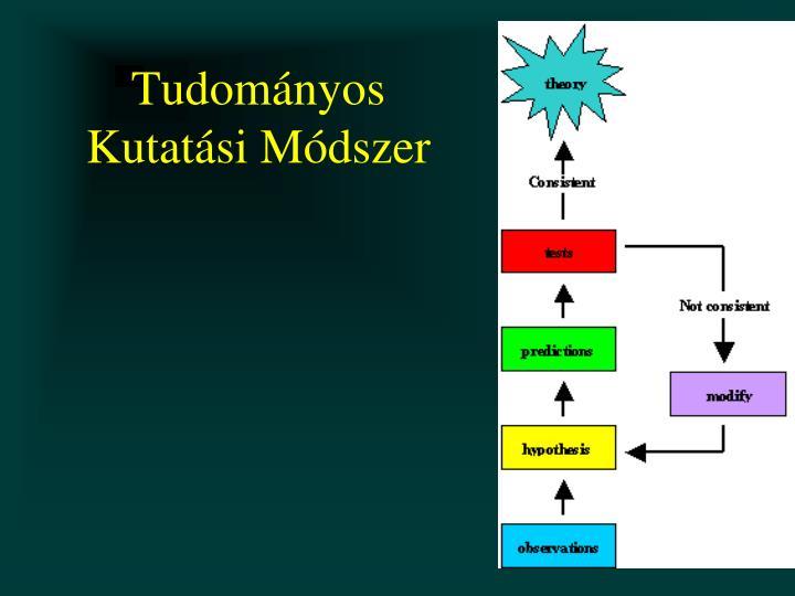 Tudomnyos Kutatsi Mdszer