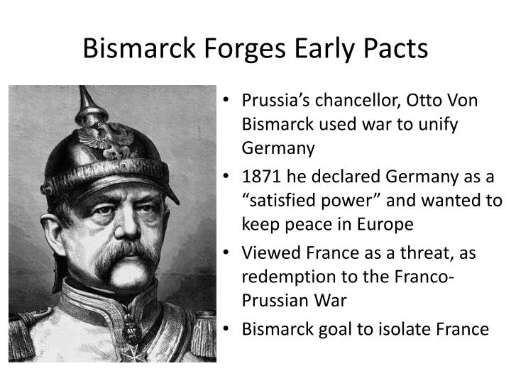 Bismarck Forges Early Pacts