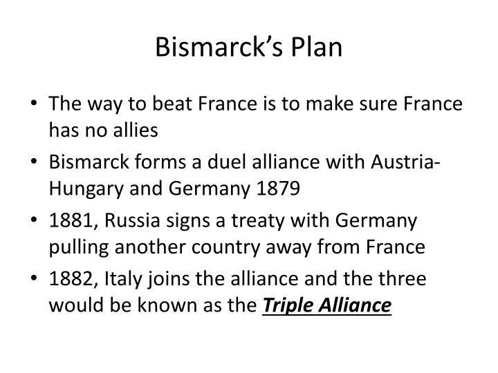 Bismarck's Plan