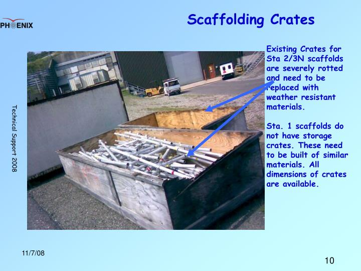 Scaffolding Crates