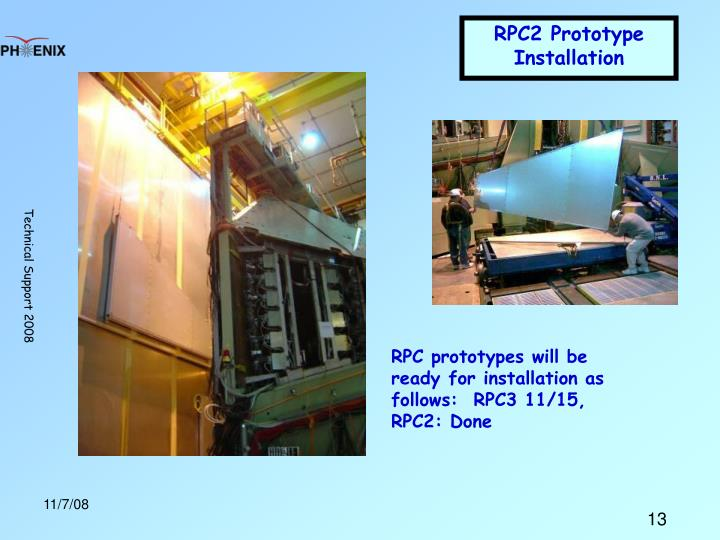 RPC2 Prototype Installation