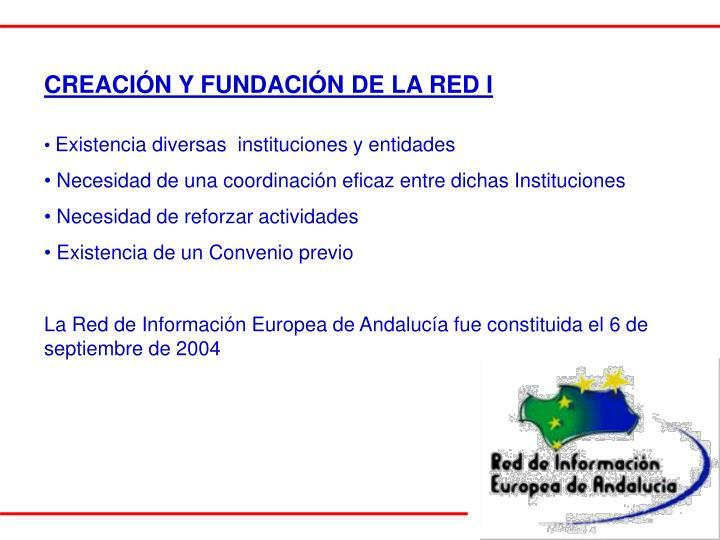 CREACIÓN Y FUNDACIÓN DE LA RED I