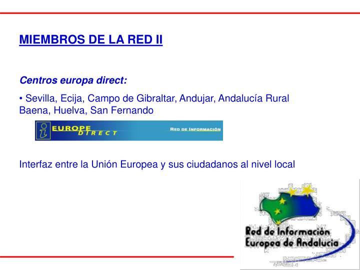 MIEMBROS DE LA RED II
