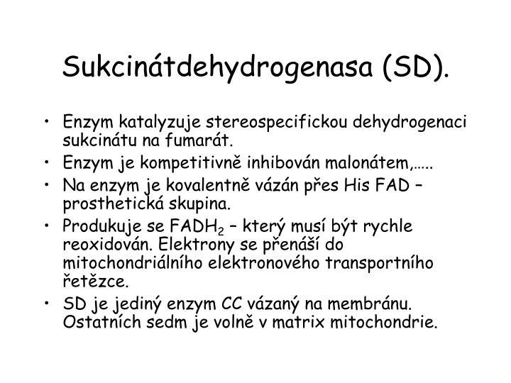 Sukcinátdehydrogenasa (SD).