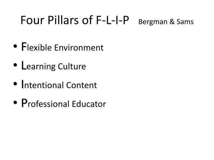 Four Pillars of F-L-I-P