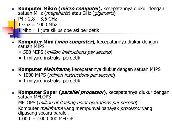 Komputer Mikro (