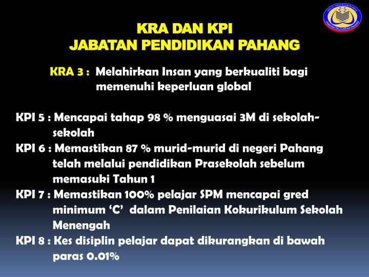KRA DAN KPI