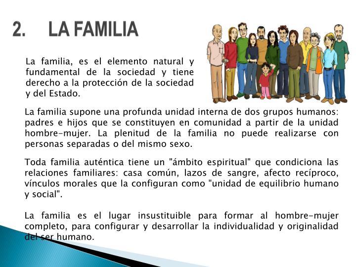 2.LA FAMILIA