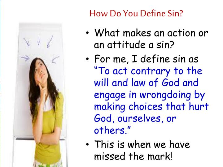 How Do You Define Sin?