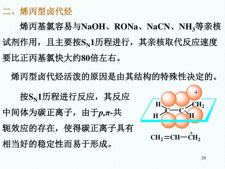 二、烯丙型卤代烃