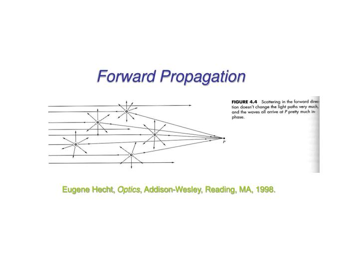 Forward Propagation