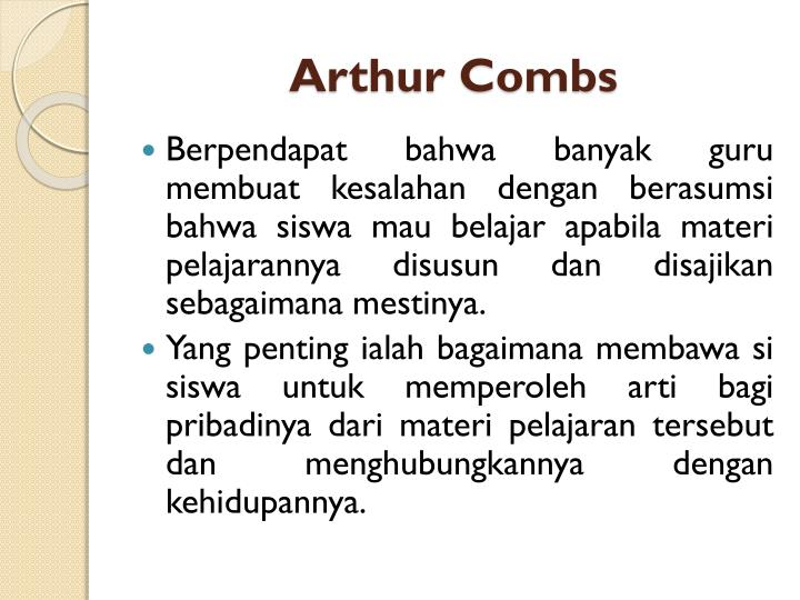 Arthur Combs