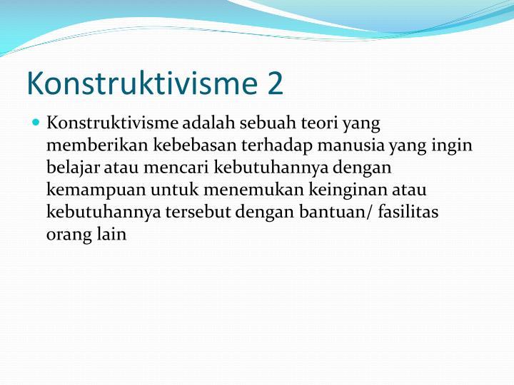 Konstruktivisme 2