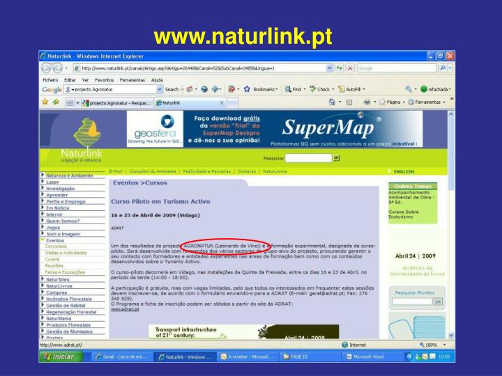 www.naturlink.pt