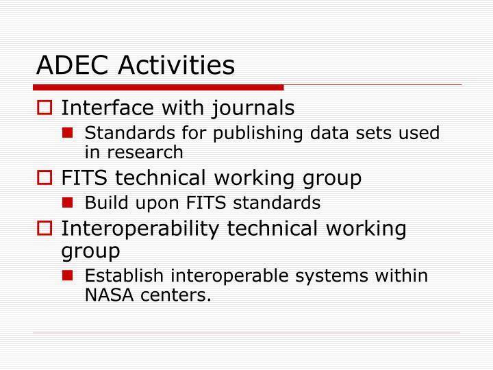 ADEC Activities