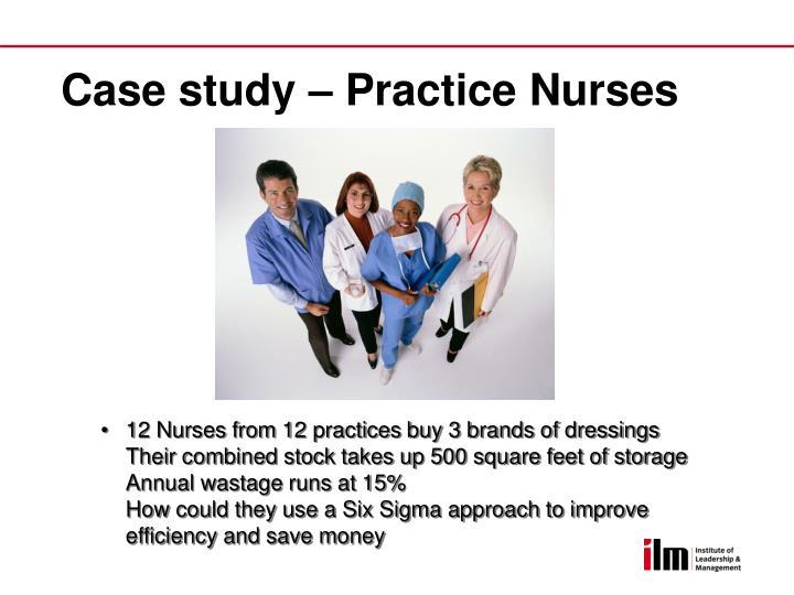 Case study – Practice Nurses