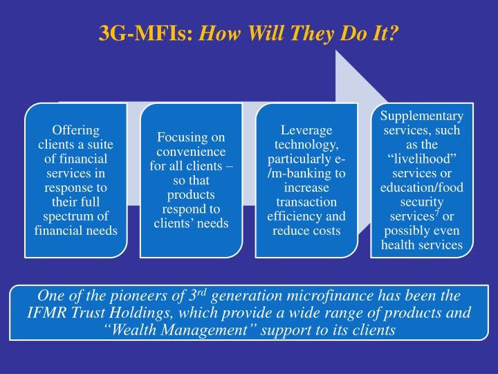 3G-MFIs: