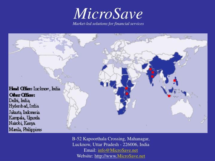 MicroSave