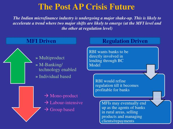 The Post AP Crisis Future