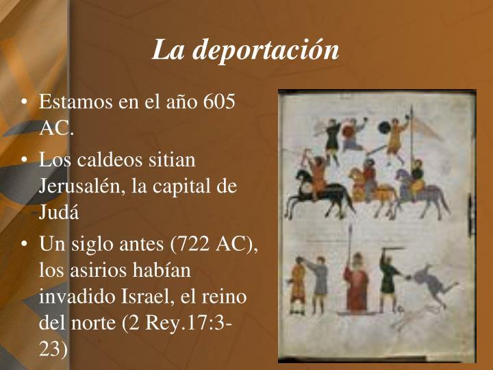 La deportación