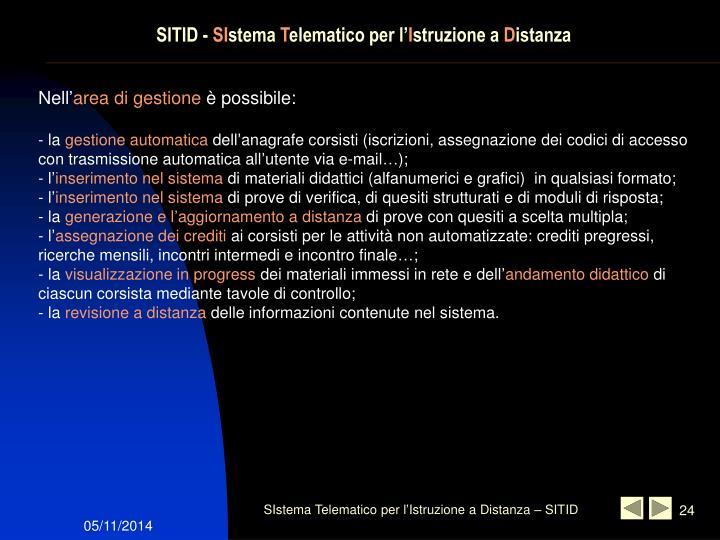 SITID -