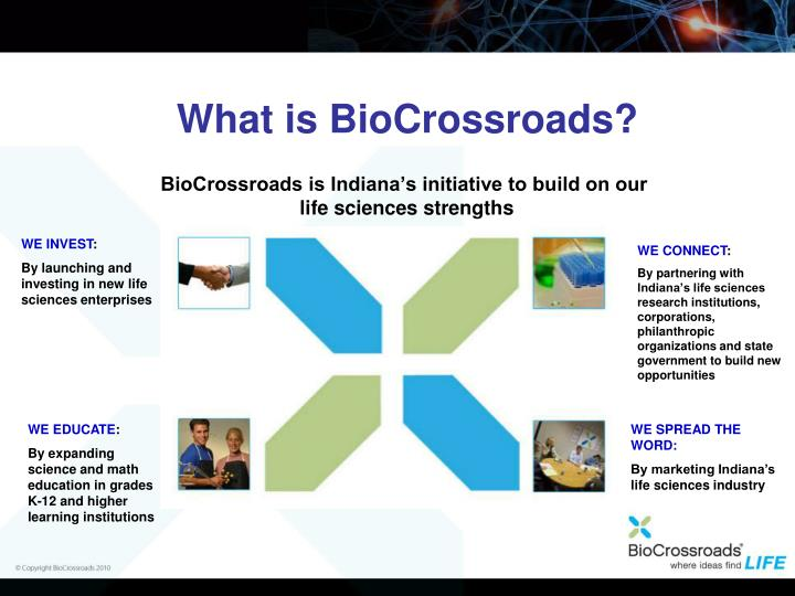 What is BioCrossroads?
