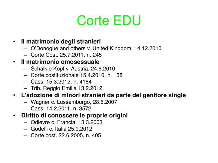 Corte EDU