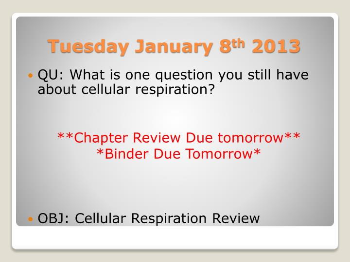 QU: What is one question you still have about cellular respiration?