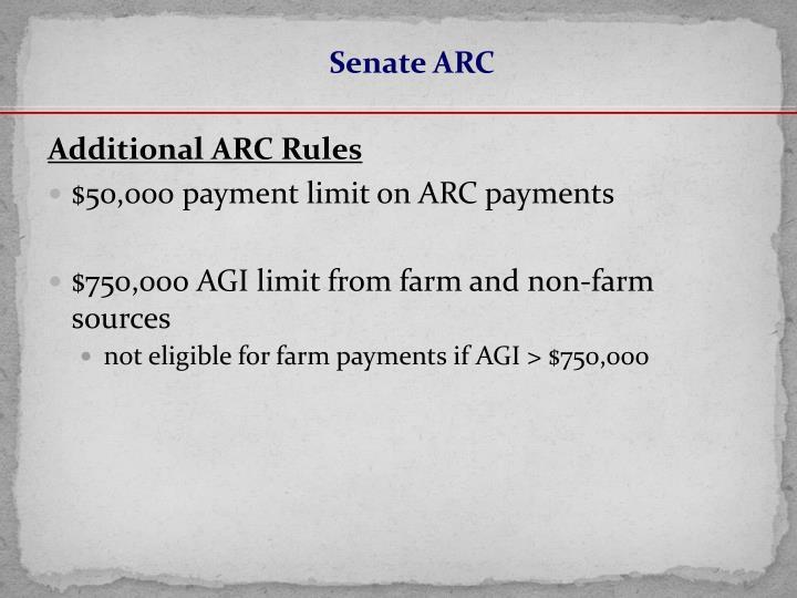 Senate ARC
