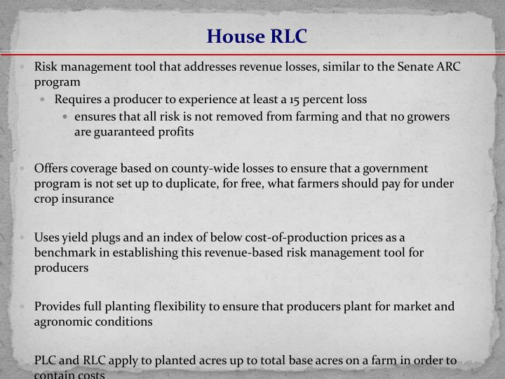House RLC