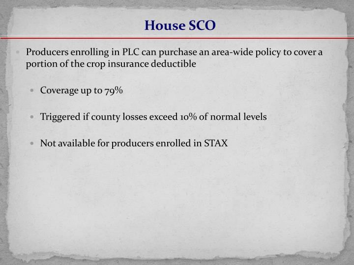 House SCO