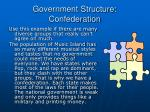 government structure confederation