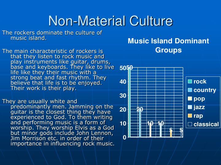 Non-Material Culture