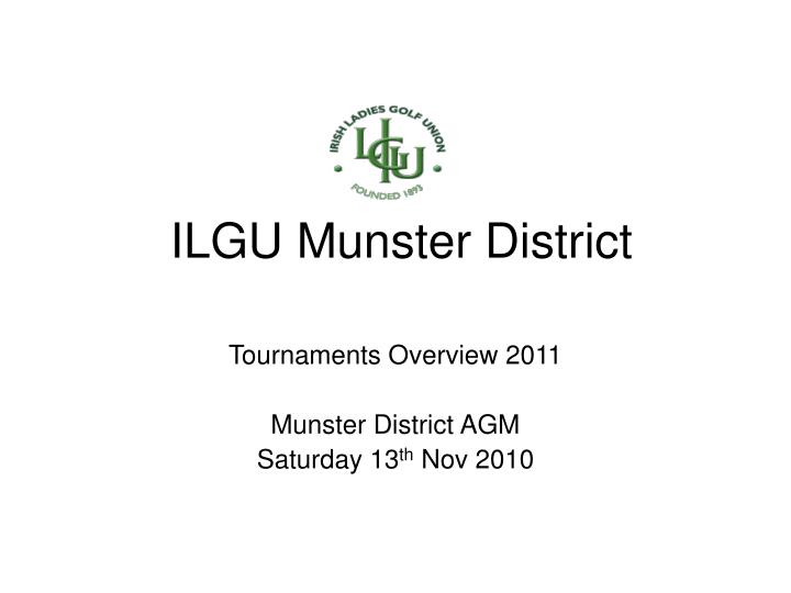Ilgu munster district